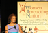 Gives motivational speech at the Women Impacting the Nation event