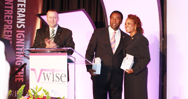 Jennifer gets recognized by VWise for her efforts igniting Veteran Women in business