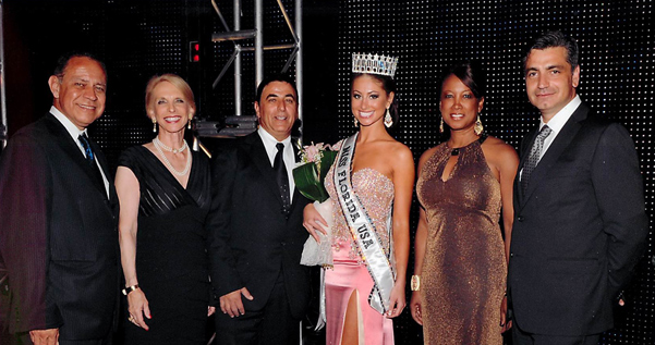 Jennifer one of the official judges of the Ms. FL USA Pageant