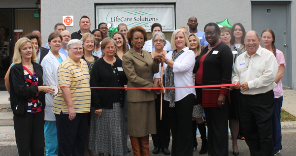 Jennifer helps open new center for Life Care Solutions