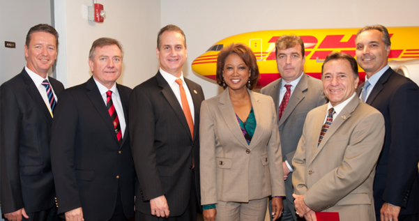 Jennifer helps launch DHL jobs expansion in Miami