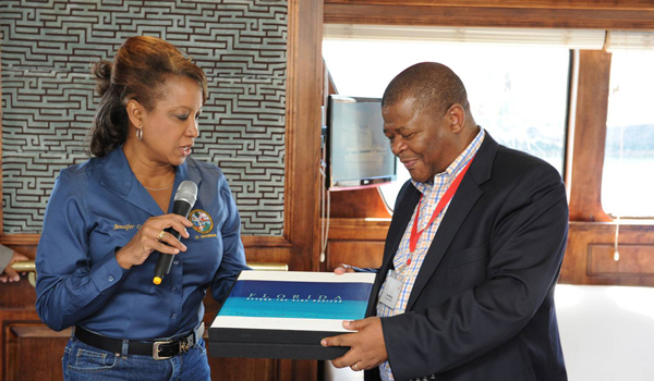 Jennifer discusses export and port operations with Transnet in South Africa