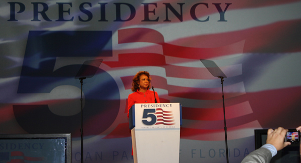 Jennifer served as Mistress of Ceremonies during the 2010 Presidency 5