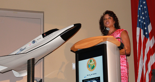 Jennifer worked with XCOR to increase jobs at the Space Coast